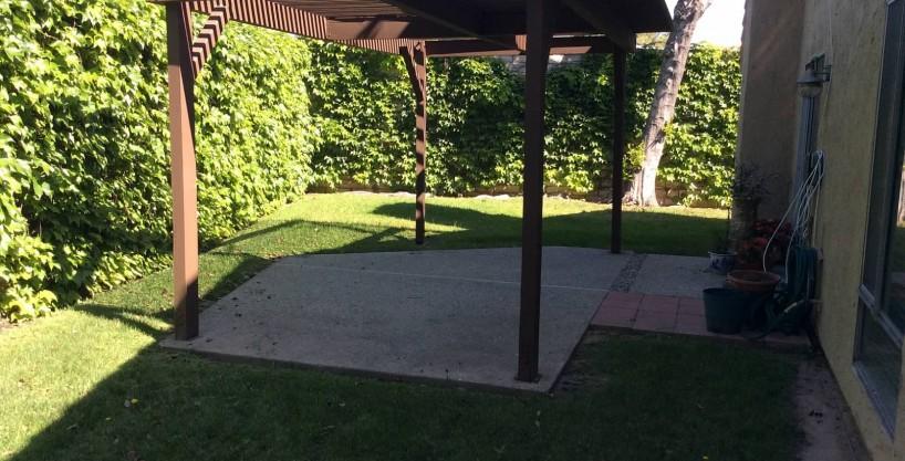 16213 Spring Park Lane Backyard